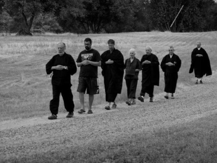 Kinhin: Slow Walking   Two Rivers Zen Community: