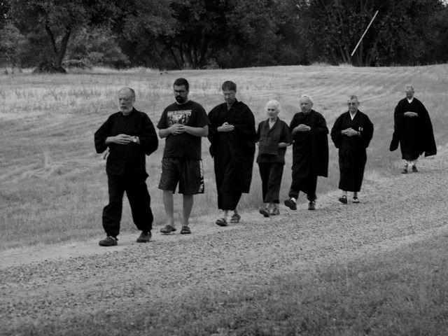 Kinhin: Slow Walking | Two Rivers Zen Community: